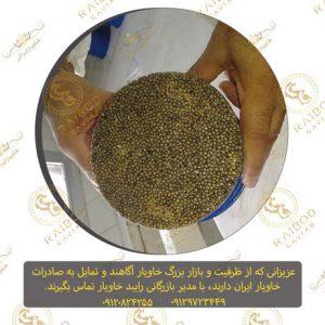 صادرات خاویار اصل ایران
